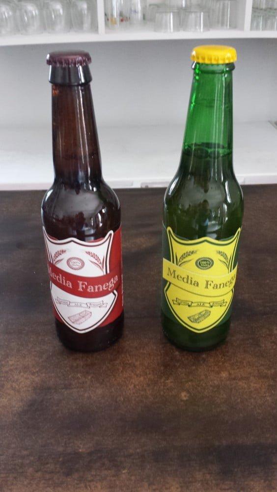 Cerveza Artesanal Media Fanega Dénia