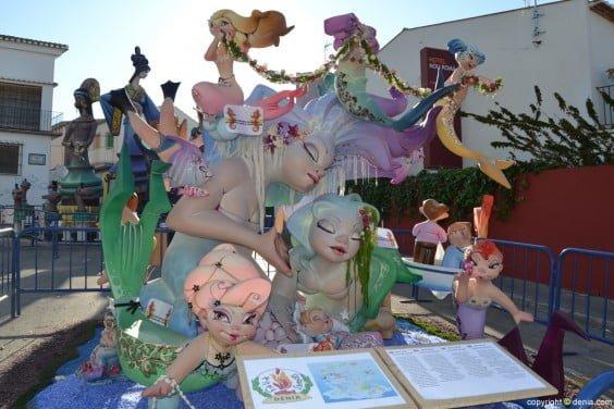 Falla Les Roques infantil 2014