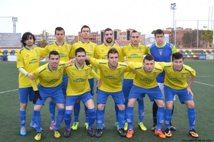 Once the CD. At Dénia against. carcaixent