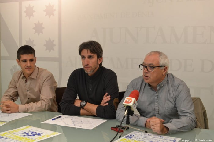 Juan Carlos Signes junto a Jorge Jorro y Ricard Pérez