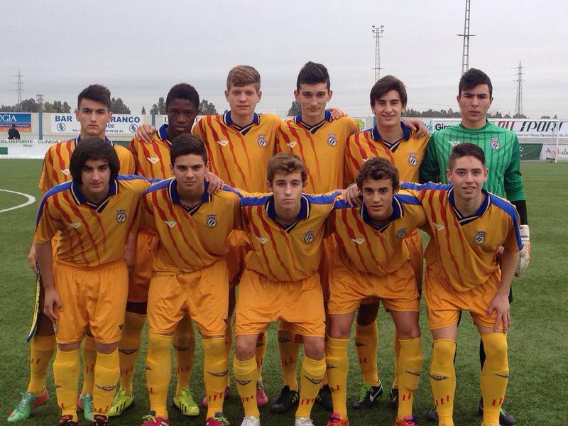 Pepelu con Selección Valenciana Sub 16
