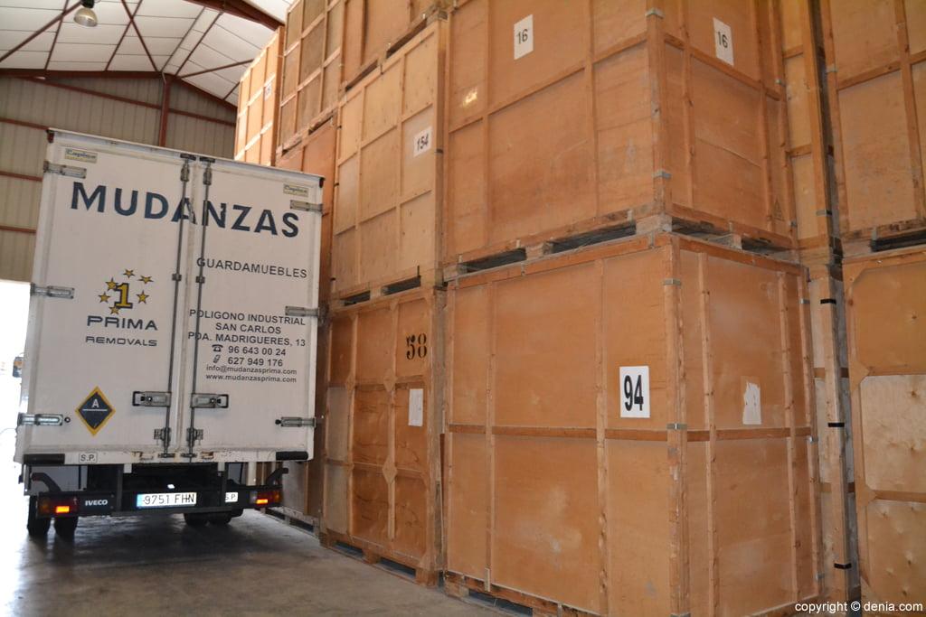 Servicio de guardamuebles en Dénia - Mudanzas Prima ...