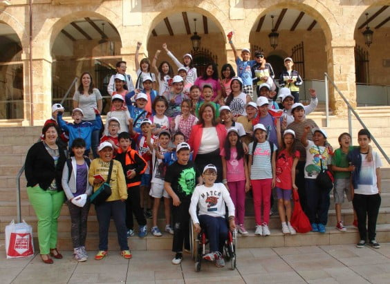 Llebeig students visit the municipality of Dénia