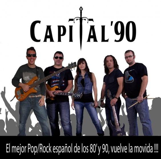Capital 90 en concierto en Paddy O'Connell Dénia