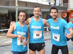 Moisés Blesa, Federico Pozuelo y Ramón Sendra