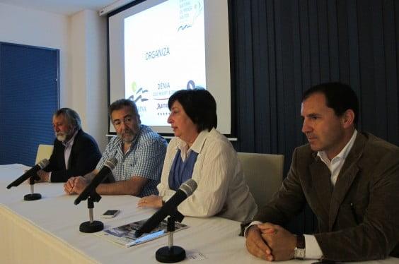 Pepa Font auf der Einweihung III Symposium Pensa Náutica in Dénia