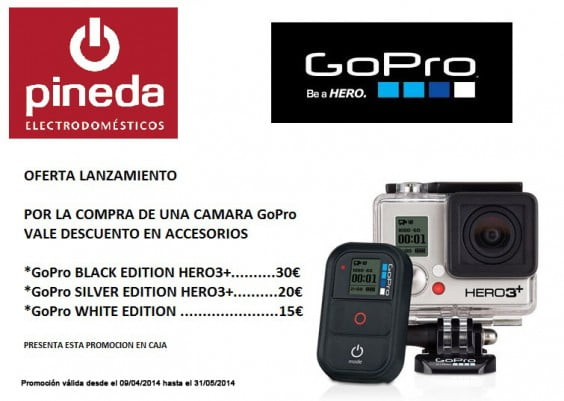 Promoción Go Pro Pineda