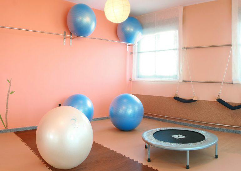 Interior instal·lacions Centre Fisiobioestètic