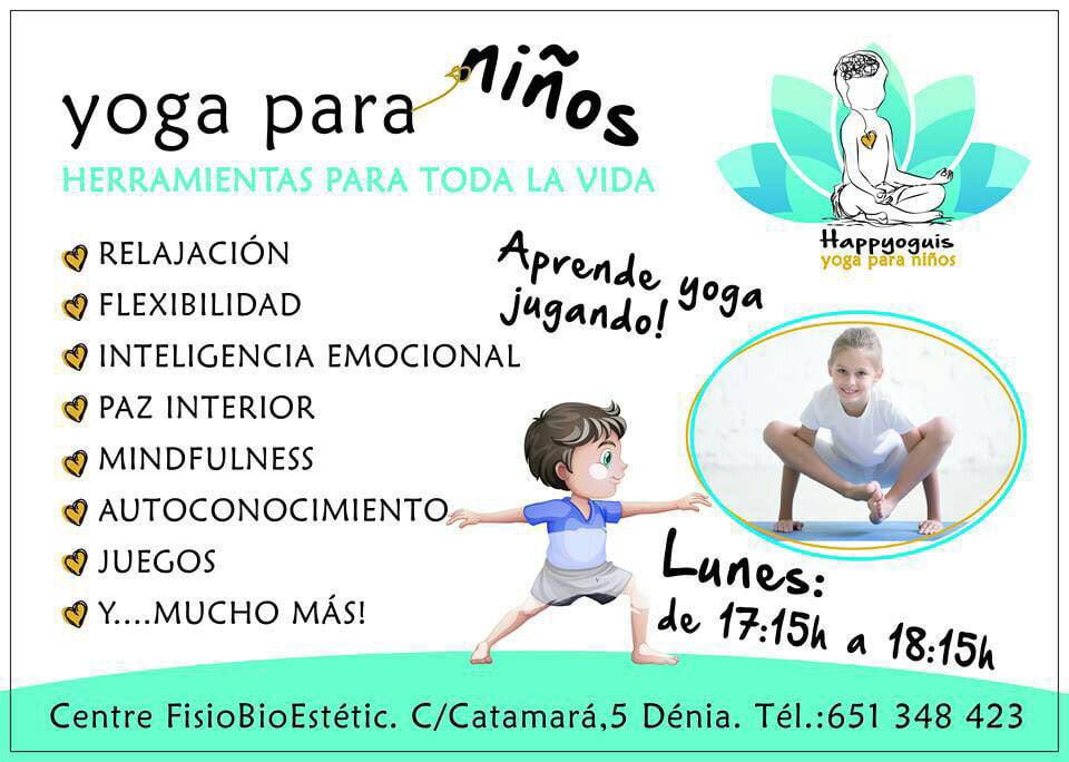 Ioga per a nens Centre Fisiobioestètic
