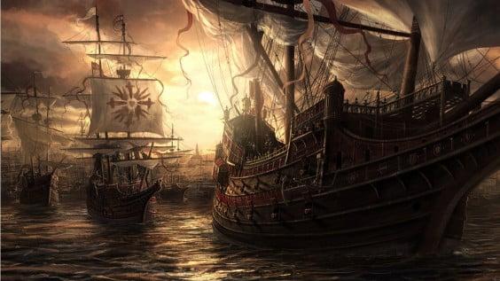 Actuación de piratas Dénia