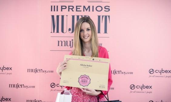 Alicia Soler en los Premios Mujer It