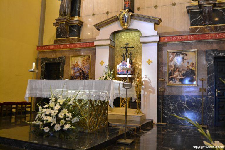 Altar de la Iglesia de San Antonio
