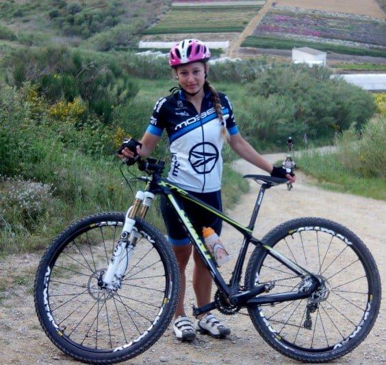 Andrea Fernández in Calella