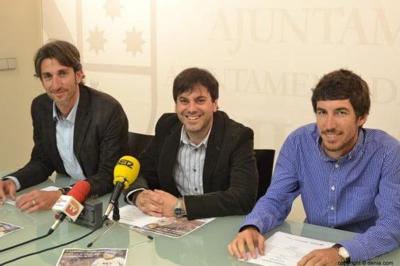 Antonio Reig, Juan Carlos Signes  y Emilio Monfort
