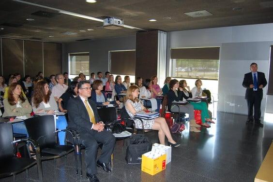 Kursteilnehmer VI Arzneimitteltherapie Verwaltung Marina Krankenhaus Gesundheit Dénia