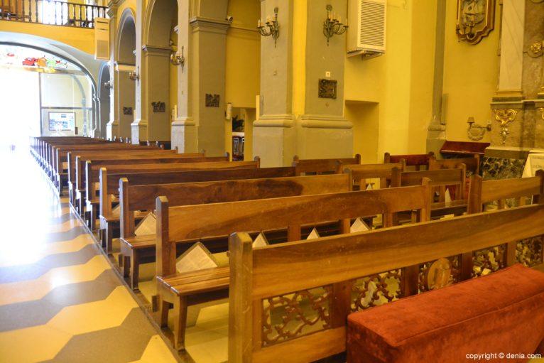 Bancada de la iglesia de San Antonio