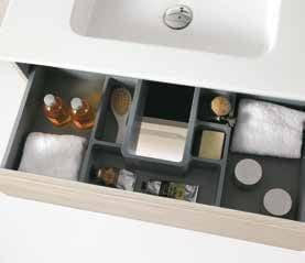 Cajón organizador, mueble baño Gres Dénia