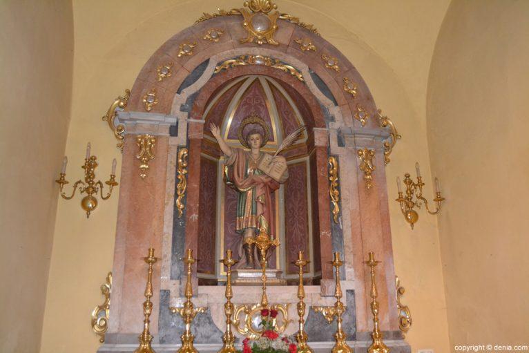 Capilla de San Pancracio en la Iglesia de San Antonio