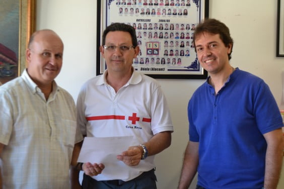 IES Chabas donation to Red Cross