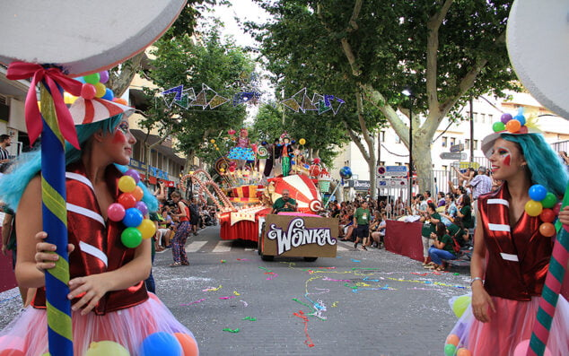 Imagen: Carroza ganadora de las Fiestas 2019