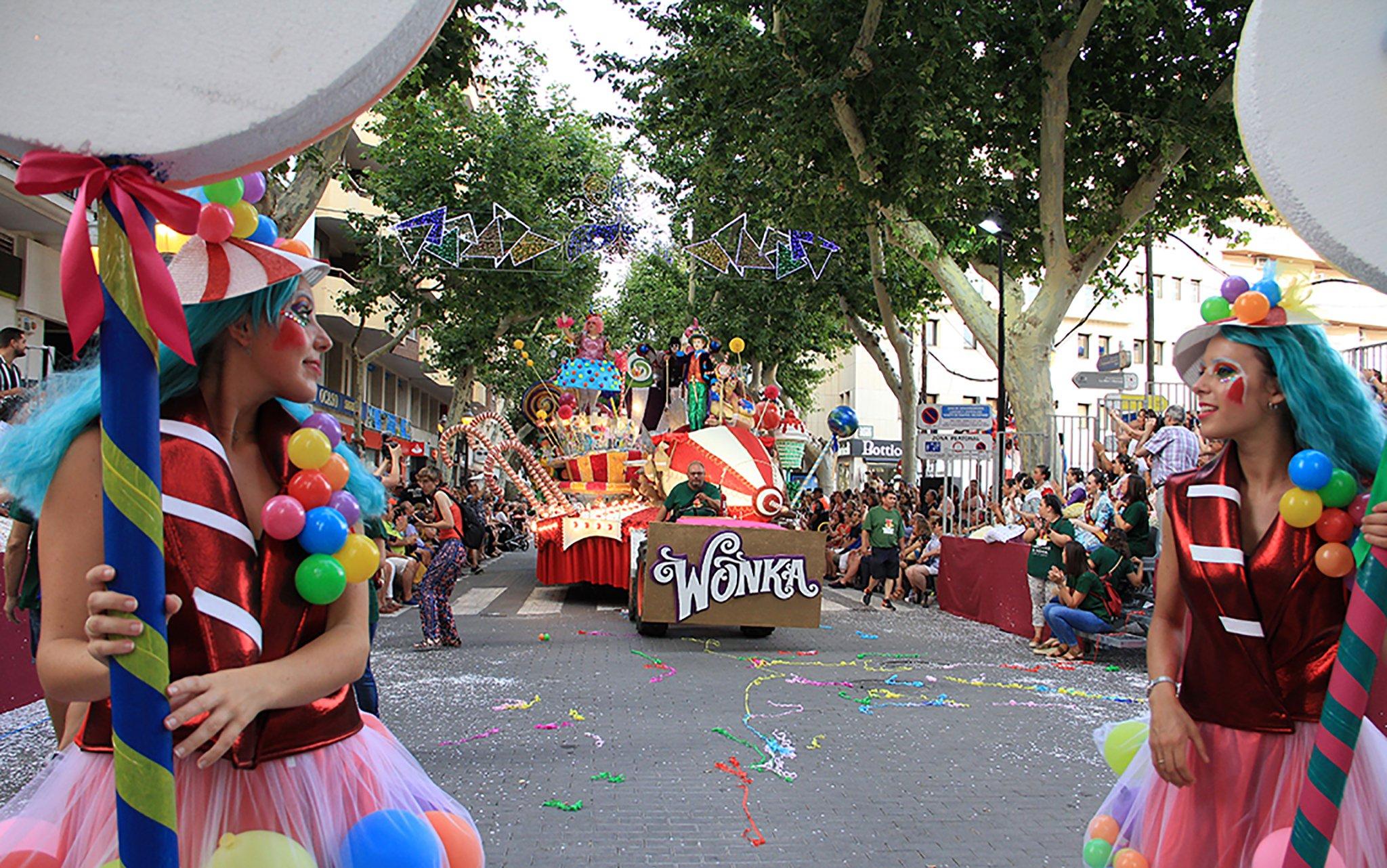 Fiestas de Dénia – Carrozas 2013