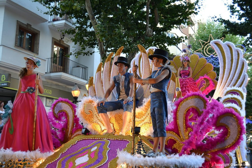 Fiestas de Dénia – Carrozas