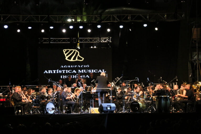 Fiestas de Dénia - Concierto de la Banda