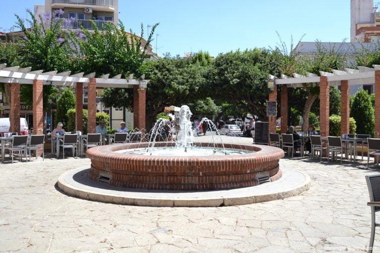 Fuente de la Glorieta del país Valencià