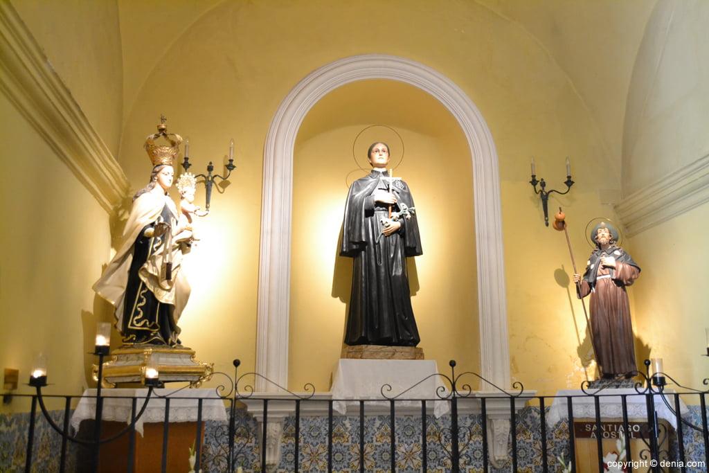 Imagen de Santa Gema en la Iglesia de san Antonio