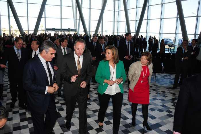 Inauguratie van de maritieme Estacoón