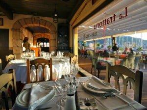 Interior Restaurante Isla Tortuga Dénia