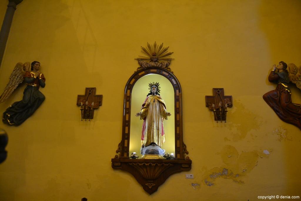 Jesucristo en la Iglesia de san Antonio