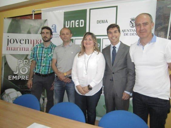 Jovempa y la UNED de Dénia firman un convenio