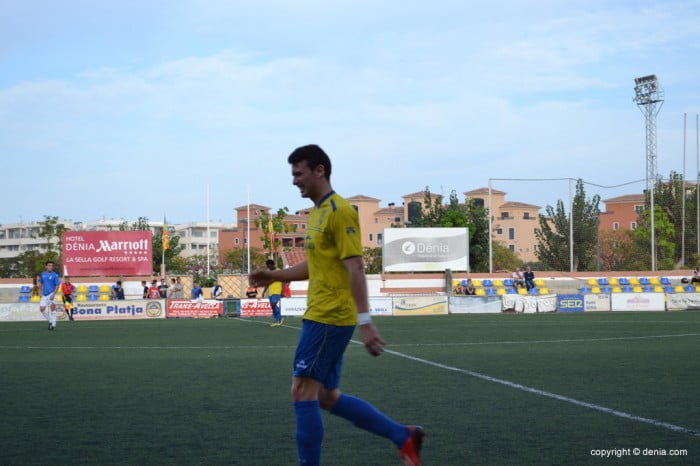 Michael scored against Alcoyano B