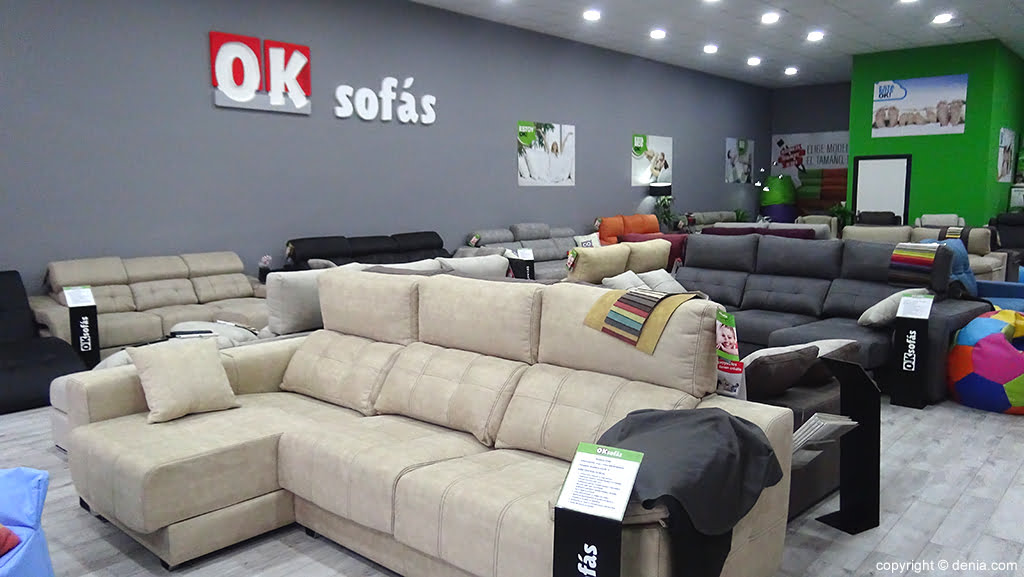 Ok Sofas new store
