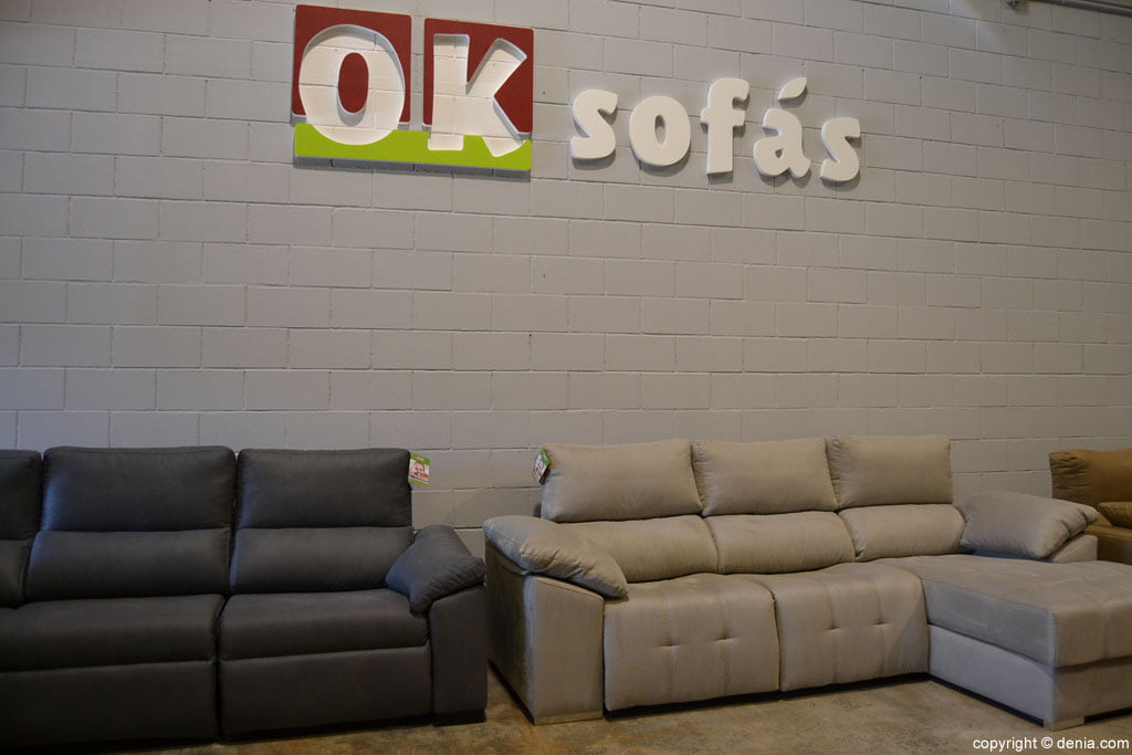 OK Sofas - exhibition and sale of sofas in Dénia