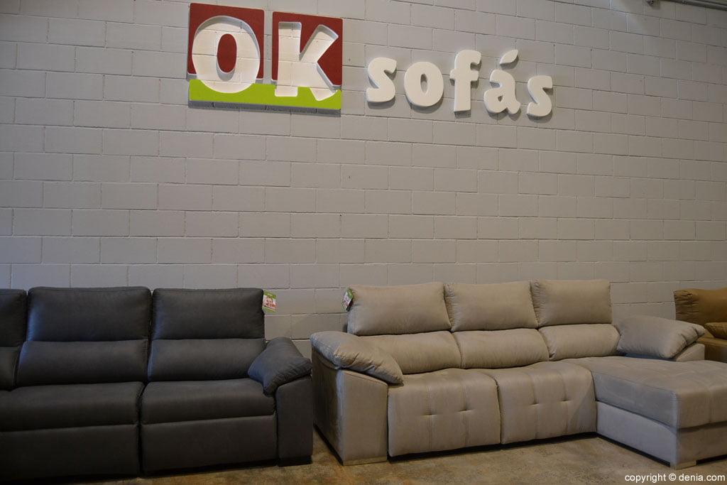 OK Sofas - esposizione e vendita di divani a Dénia
