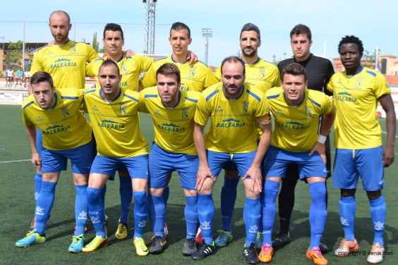 CD starting XI. Dénia against UD. Swedish