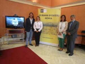 Presentación de los cursos de verano UNED Dénia 2014