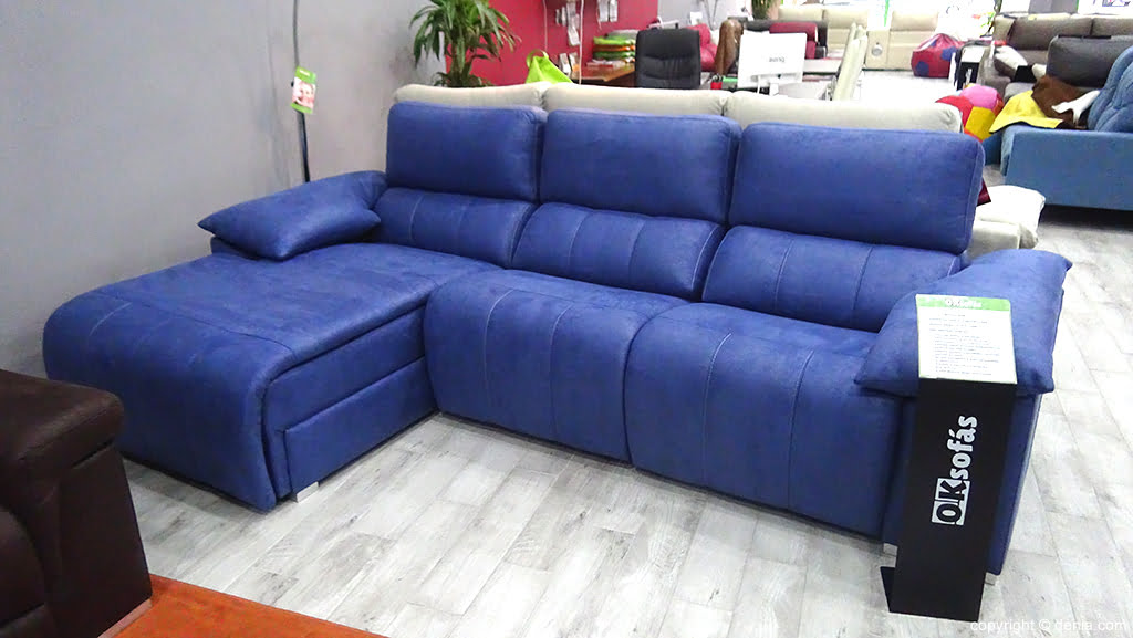 Ok blue sofa Sofas