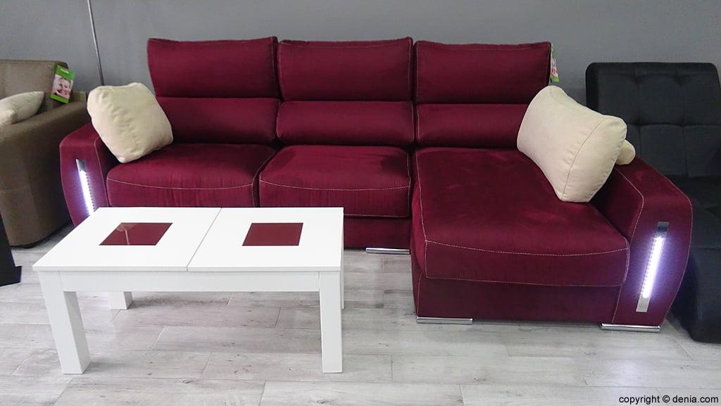 Sofa with light