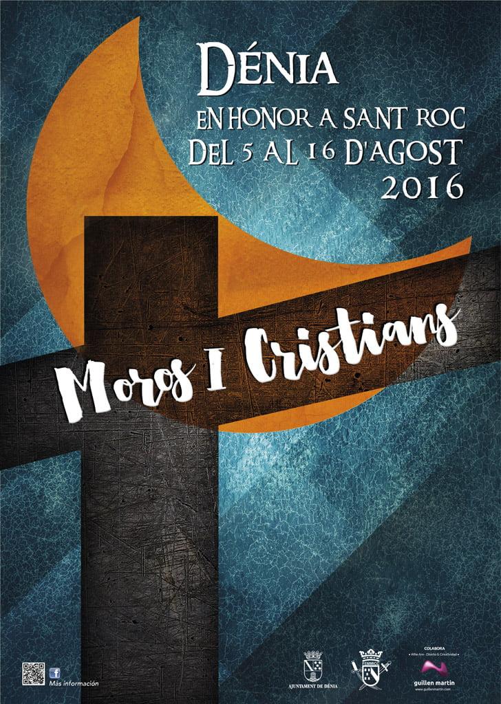 Cartel Moros y Cristianos Dénia 2016