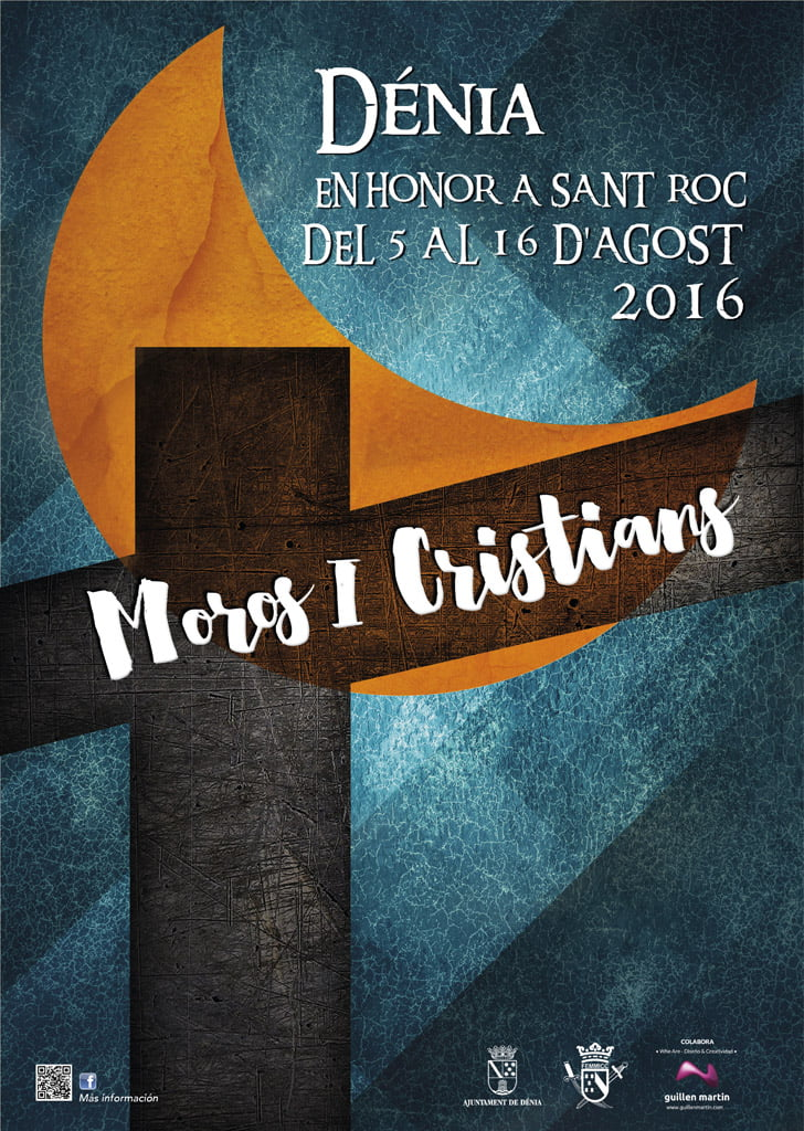Cartel Moors and Christians Dénia 2016