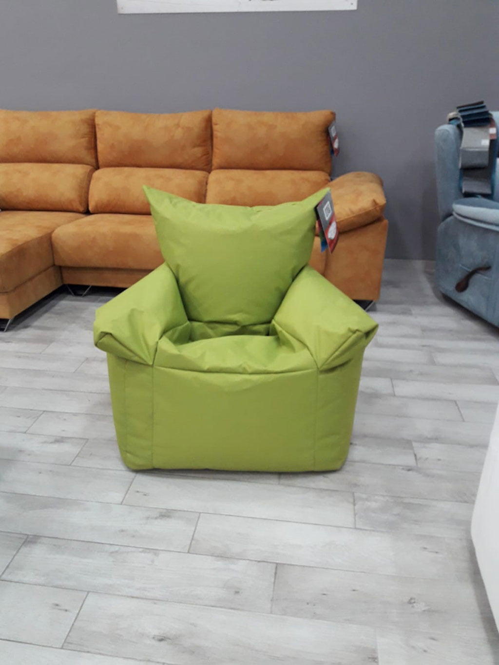 Gift Pouff in the OK Sofas draw