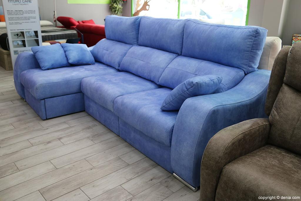 Sofa blue tone Ok Sofas