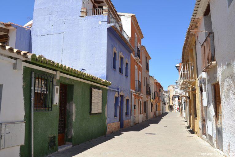 Calle del Barrio de Baix la Mar