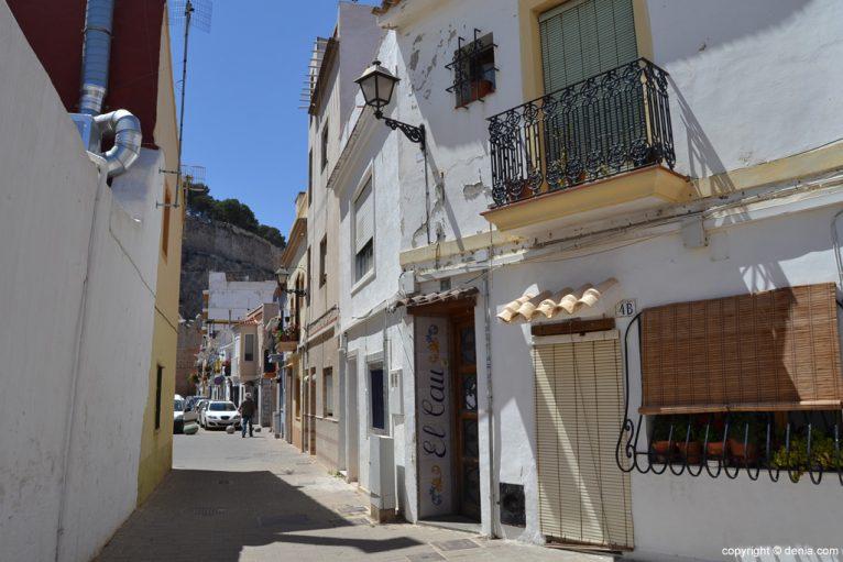 Calles del Barrio de Baix la Mar