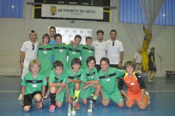 David Jaén with his team Alpha and Omega