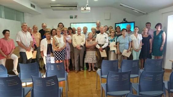 Clausura de los cursos de la UNED Senior