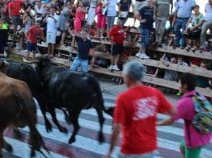 Entrada de toros